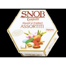 Confetti Crispo Snob COLORATI LIETO EVENTO imbustati singolarmente - scatola da 500 grammi