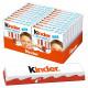 Ferrero Kinder Cioccolato - confezione da 20 astucci (80 barrette) x 50 g