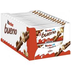 Ferrero Kinder Bueno - confezione da 30 barrette x 43 g