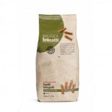 Pasta biologica integrale Felicetti fusilli n.6178 - sacchetti carta da 500 grammi