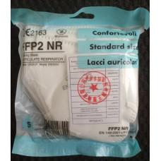 Mascherina FFP2 bianca certificata CE -