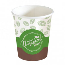 Bicchieri biodegradabili e compostabili 3 oz (80 ml) per bevande calde e caffè - pacco da 50 pezzi