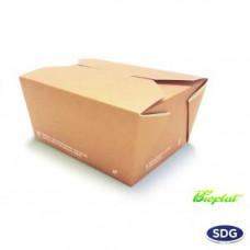 Food box biodegradabili e compostabili per asporto da 900 ml - art. 639 - pacco da 25 pezzi