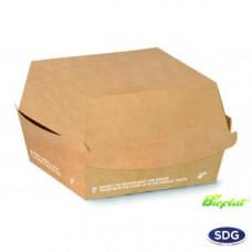 Contenitori biodegradabili e compostabili per panino da asporto -  pacco da 50 pezzi