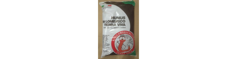 HUMUS LOMBRICO VAGLIATO - SACCO da 20 kg > NUOVO!!!