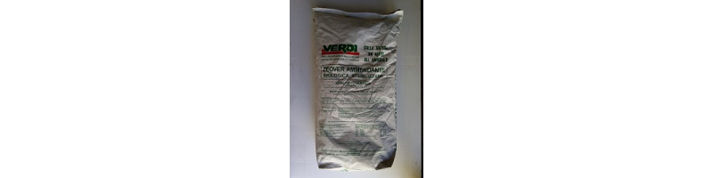 ZEOVER zeolite-chabasite 0-0.7mm - sacco da 25 kg > NUOVO!!!