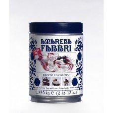 Amarene Fabbri pre-candite allo sciroppo - lattina da 1,25 kg
