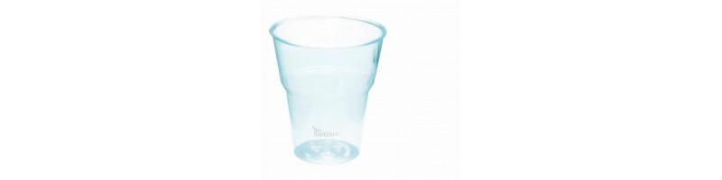 Bicchieri biodegradabili e compostabili 300-440 ml per bevande fredde - pacco da 70 pezzi