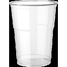 Bicchieri PET trasparente da 400/550 ml - pacco da 50 pezzi