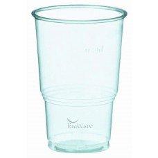 Bicchieri biodegradabili e compostabili 250-330 cc  per bevande fredde - pacco da 70 pezzi