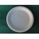 Piatti piani biodegradabili e compostabili in cellulosa europea da 23 cm - Pacco da 50 pezzi