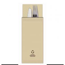Busta porta posate Eco-Friendly con tovagliolo - cartone da 1000 pezzi