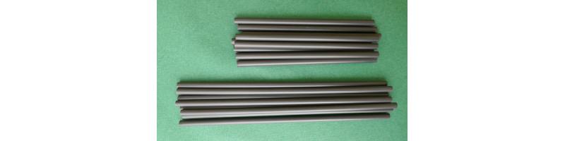 Cannucce biodegradabili e compostabili nere cm 21/0,6 - pacco da 500 pezzi