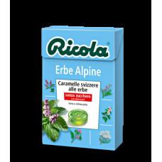 Ricola caramelle Erbe Alpine - confezione da 20 astucci