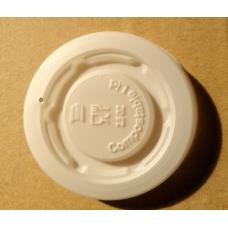 Coperchio piano per bicchieri 2,5 oz (80 ml) - Biodegradabili e compostabili - pacco da 100 pezzi