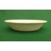Ciotole biodegradabili e compostabili in cellulosa ricavata da canna da zucchero da cm 19 ml 600 - pacco da 100 pezzi