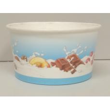 Coppette cartoncino per gelato T80 - pacco da 42 pezzi