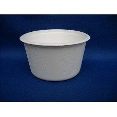 Coppette bianche biodegradabili e compostabili da 350 ml - pacco da 50 pezzi