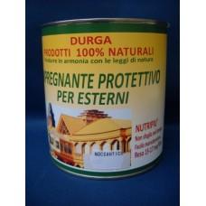 DURGA NutriPiù i15 - Confezione da 0,75 litri - Tinta NOCE ANTICO