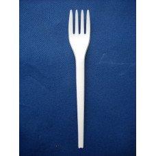 Forchetta in PLA cristallizzato (cpla) biodegradabile e compostabile pz. 50