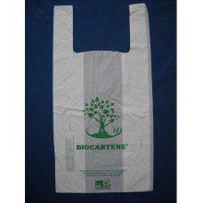 Shopper - borse maxi biodegradabili e compostabili conformi normativa EN 13432 pz.500