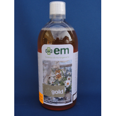EMBIO Gold - Detergente universale con microorganismi effettivi bottiglia da 1 litro