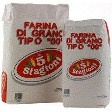 Farina bianca 5 stagioni 00 oro - sacco rosso da 10 kg
