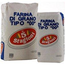 Farina bianca 5 stagioni 00 superiore - sacco blu da 25 kg