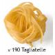 Pasta biologica Felicetti tagliatelle uovo - 12 pacchi da 250 grammi
