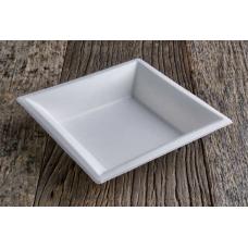 Fondine quadrate elegance biodegradabile e compostabile da cm 18x18 - pacco da 25 pezzi