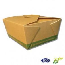 Food box biodegradabili e compostabili per asporto da 700 ml - art. 636 - pacco da 20 pezzi