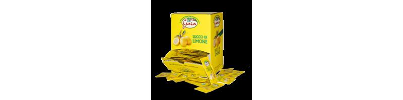 Gaia - Succo di limone - bustine monodose da 5 ml