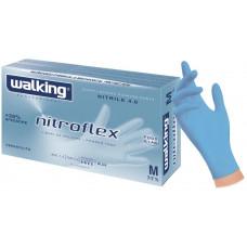 Guanti in nitrile senza polvere taglia M - scatola da 100 pezzi