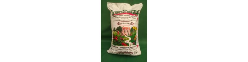 Humus di lombrico - sacco da 22 kg