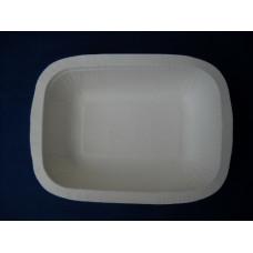Vaschette biodegradabili e compostabili Biopap® in cellulosa europea LM-01 pz.100