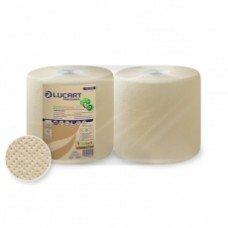 Lucart Bobine Eco Natural a 2 veli - confezione da 2 rotoli