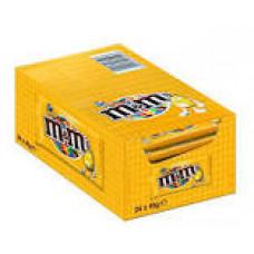 Cioccolato Snack M&M's Giallo - scatola da 24 pz x 45 g