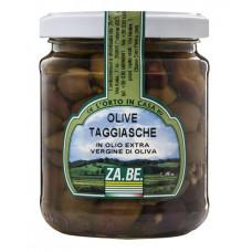 ZA.BE. olive Taggiasche denocciolate - vaso vetro da 950 grammi