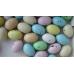 Ovetti confettati maculati ripieni di crema nocciola - Scatola da un Kg