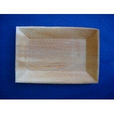 Piatti in foglia di palma cm 17x25 - pacco da 25 pezzi