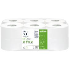 Carta igienica Papernet rotolo mini-jumbo Biotech (12 rotoli)