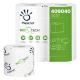 Carta igienica Papernet da 250 strappi fascettati singolarmente Biotech - imballo da 24 pacchi x 4 rotoli