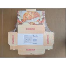 Scatole per pizza (pizzabox) per calzone cm 33,5x16+10 - Pacco da 100 pezzi