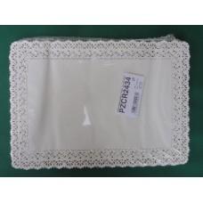 Pizzi rettangolari da cm 24x34 in carta porcellanata - pacco da 100 pezzi