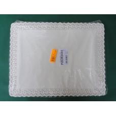 Pizzi rettangolari da cm 34x44 in carta porcellanata - pacco da 100 pezzi