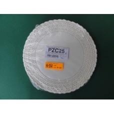 Pizzi sotto-torta diametro 25 cm in carta porcellanata - pacco da 100 pezzi