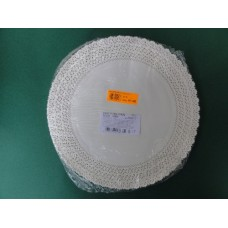 Pizzi sotto-torta diametro 30 cm in carta porcellanata - pacco da 100 pezzi