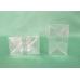 Sacchetti trasparenti a fondo quadro da cm 10 x 30 + 5 - pacchetto da 100 pezzi