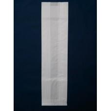 Sacchetti in carta bianca cm 15x60+10 per filoni e/o baguette - Scatola da 1000 pezzi