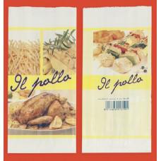 Sacchetti in carta antigrasso per pollo -  Scatola da 500 pezzi